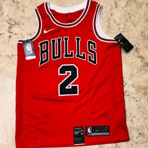 Nike Chicago Bulls Jabari Parker Jersey Men Medium